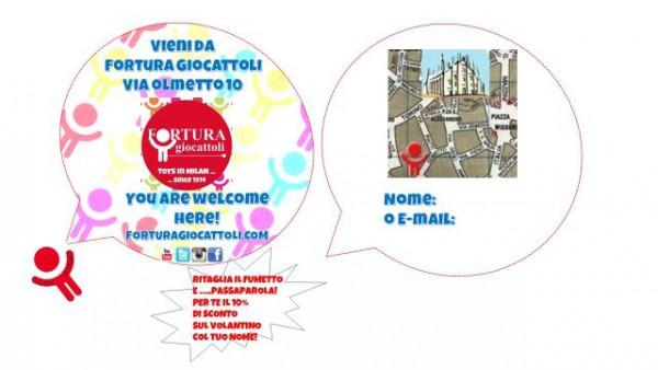 Volantino Expo 2015