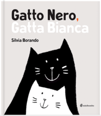 gatto.nero.gatta.bianca.forturagiocattoli